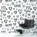 Tapeta na ścianę - I LOVE YOU