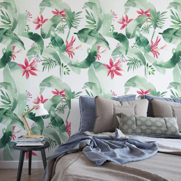 Tapeta na ścianę - LOVELY TROPIC