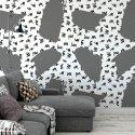 Tapeta na ścianę - SILVER STROKES ART