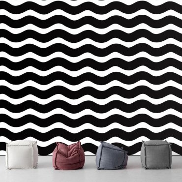 Tapeta na ścianę - MODERN WAVES