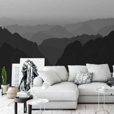 Tapeta na ścianę - MOUNTAINS FOG