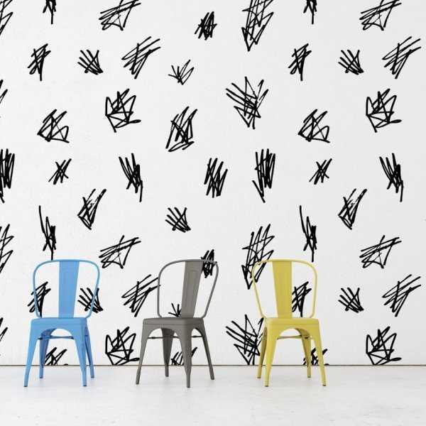 Tapeta na ścianę - SCRIBBLES ART