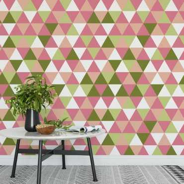 Tapeta na ścianę - SPRING TRIANGLE