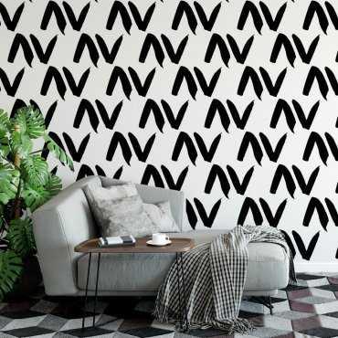 Tapeta na ścianę - TICKS DESIGN