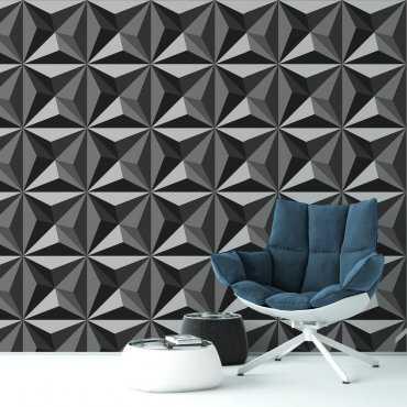 Tapeta na ścianę - STARS 3D