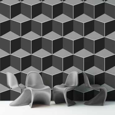 Tapeta na ścianę - SHADOW BLOCKS