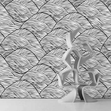 Tapeta na ścianę - WAVY DESIGN