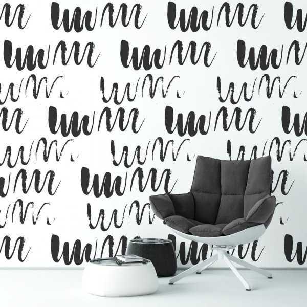 Tapeta na ścianę - WAVY ART
