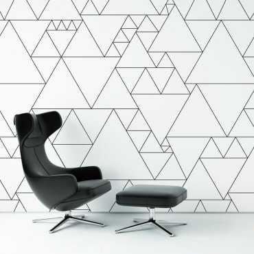 Tapeta na ścianę - TRIANGULAR IDEA
