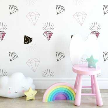 Tapeta dziecięca - SWEET DIAMONDS
