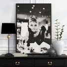 "Audrey Hepburn ""Breakfast at Tiffany's"" - Plakat w ramie"