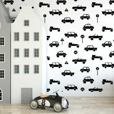 Tapeta dziecięca - MINIMALS CARS