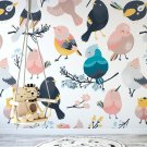 Tapeta dziecięca - BIRDY FRIENDS