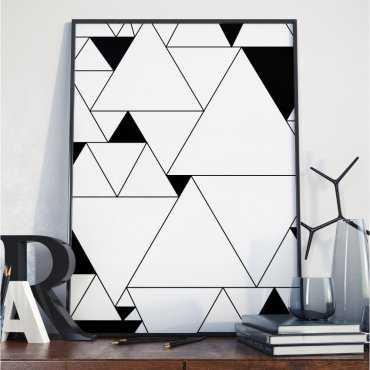 Plakat w ramie - Triangular Chaos