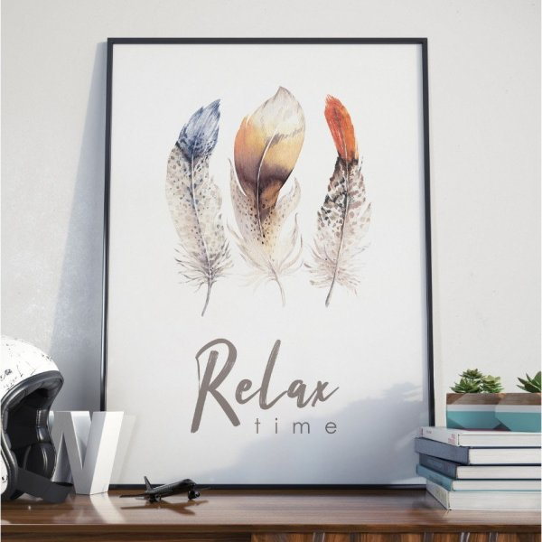 Plakat w ramie - Relax Time