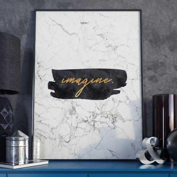 Plakat w ramie - Imagine
