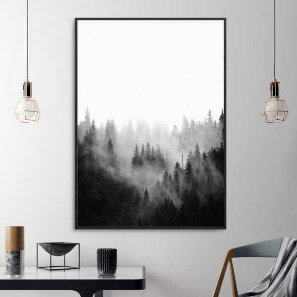 Plakat w ramie - Forest Landscape