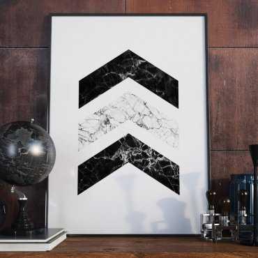 Plakat w ramie - Marble Destination