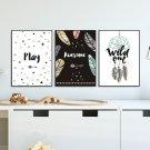 Zestaw plakatów dziecięcych - AWESOME DREAM