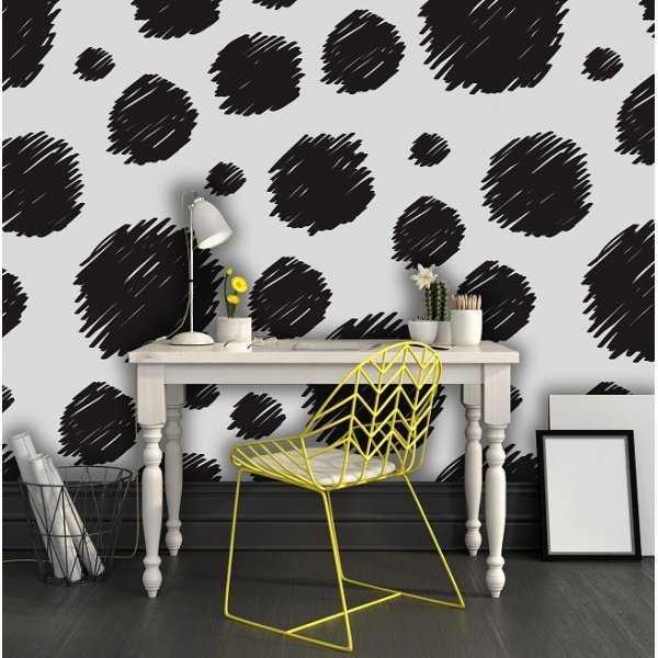 Abstrakcyjne łaty - Tapeta designerska