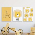 Zestaw plakatów dziecięcych - LION ART