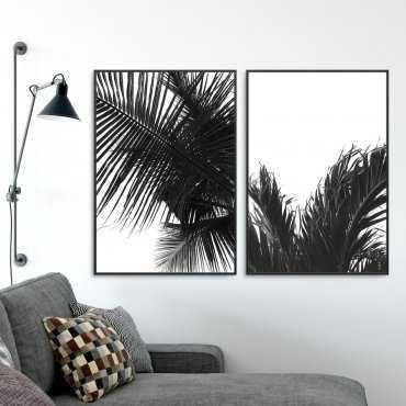 Zestaw dwóch plakatów - BLACK TROPICS