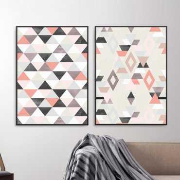 Zestaw dwóch plakatów - RUBIN DESIGN