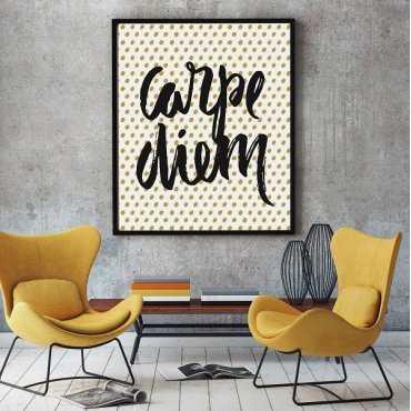 Carpe Diem - Plakat designerski