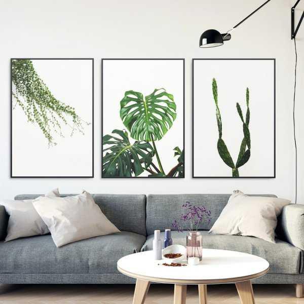 Zestaw trzech plakatów - PLANT DESIGN