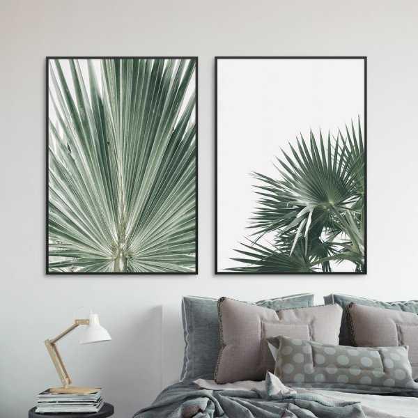 Zestaw dwóch plakatów - TROPICS DESIGN