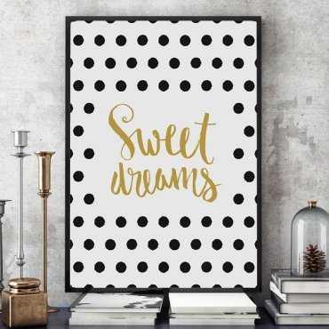 Sweet Dreams - Plakat designerski