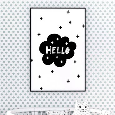HELLO CROSS - Plakat dla dzieci
