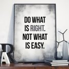 Plakat w ramie - Do what is right