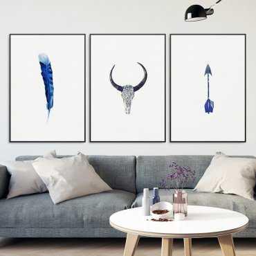 Zestaw trzech plakatów - Adventure Art