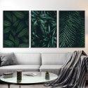 Zestaw trzech plakatów - Greenery Design