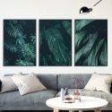Zestaw trzech plakatów - Green Darkness