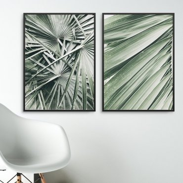Zestaw dwóch plakatów - Exotic Interior