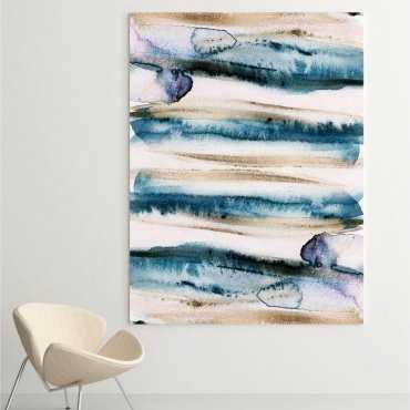 Obraz na płótnie - ARTISTIC BLUE