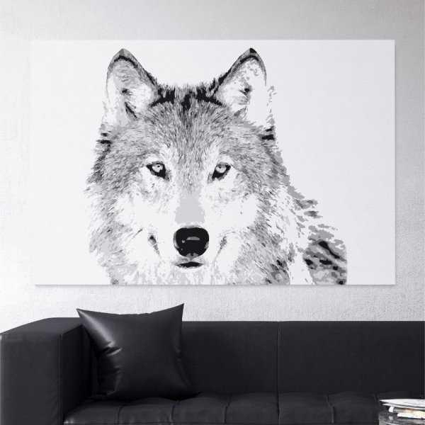 Obraz na płótnie - REAL WOLF