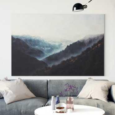 Obraz na płótnie - MOUNTAINS LANDSCAPE