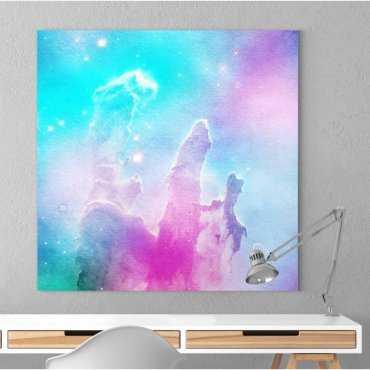 Modny obraz na płótnie - RAINBOW SPACE