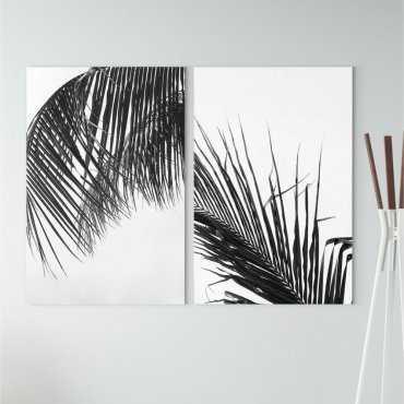 Zestaw dwóch obrazów - PERFECT PALMS
