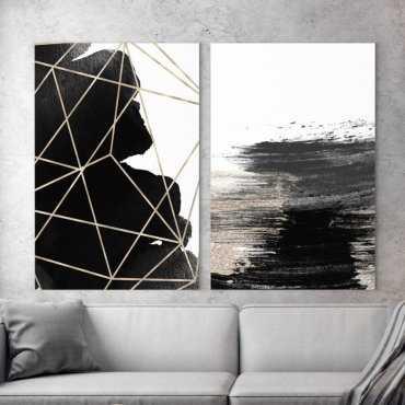 Zestaw dwóch obrazów - ARTISTIC MODERNITY