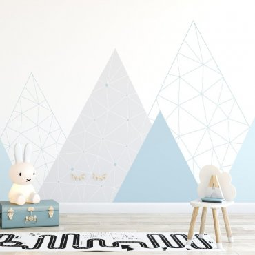Tapeta dziecięca - BLUE MOUNTAINS