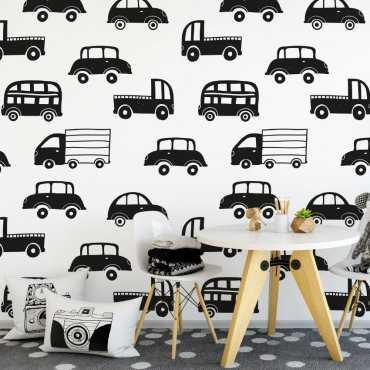 Tapeta dziecięca - FANCY CARS