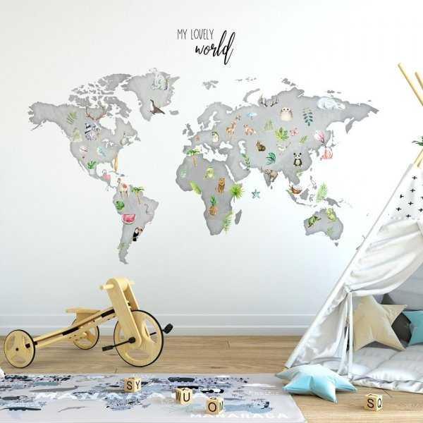 Tapeta dziecięca - MY LOVELY WORLD