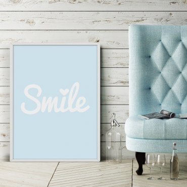 Smile - Plakat designerski