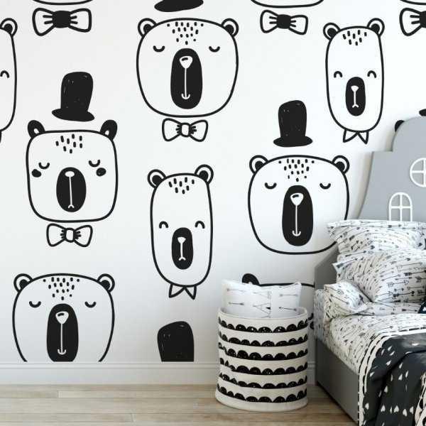 Tapeta dziecięca - SMART BEAR