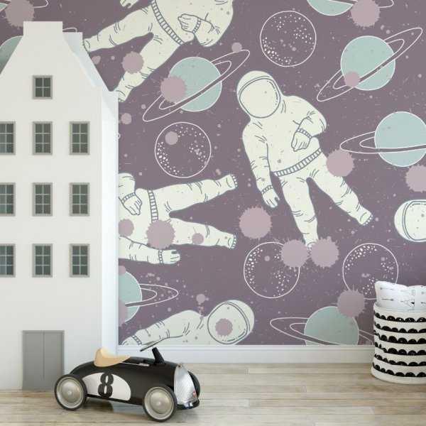 Tapeta dziecięca - SPACE ADVENTURE