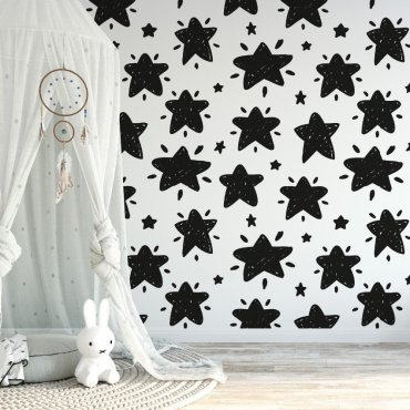 Tapeta dziecięca - SPACE STARS